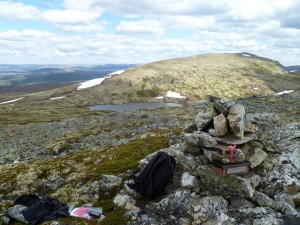 Østre Nubben - liten varde på 1114moh. Ta også turen bortom der det er to varder++  - fin utsikt!