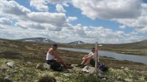 Fin utsikt mot Kverninghøgda og Marsfjellet