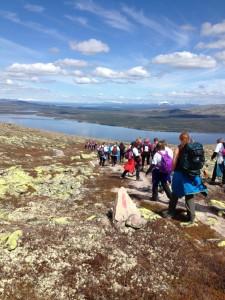 Utsikt til Sølensjøen