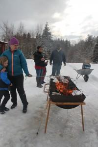 Vellykket vinteraktivitetsdag på Åkre i dag