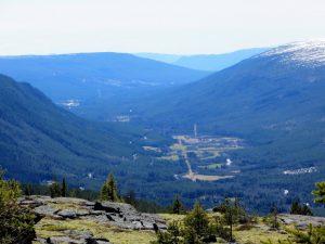 Utsikt Finstad og videre sørover