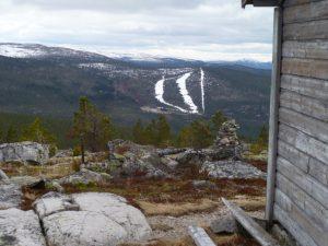 Utsikt mot Renåfjellet