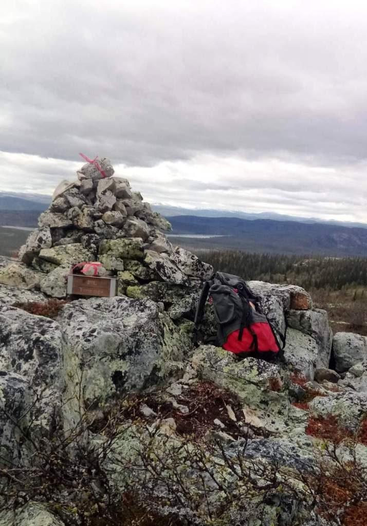 Kletten i Sjølimarka 933 moh.