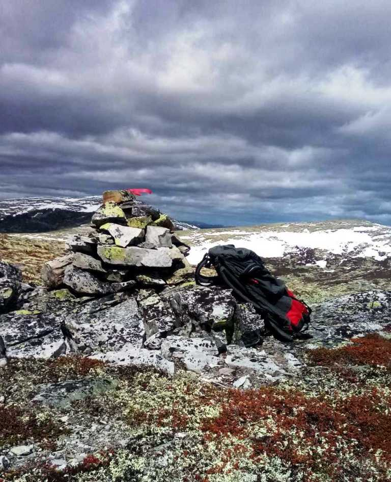 Søre Storbekkfjellet 1067 moh