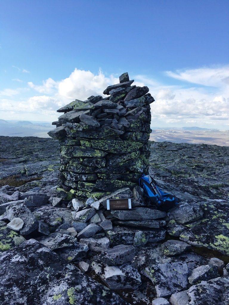 Spekedalsgråhøgda 1436 moh.